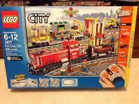 Lego City Red Cargo Train 3677 Sealed.