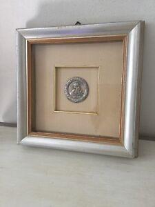quadro-con-cornice-antica-e-angelo-in-argento