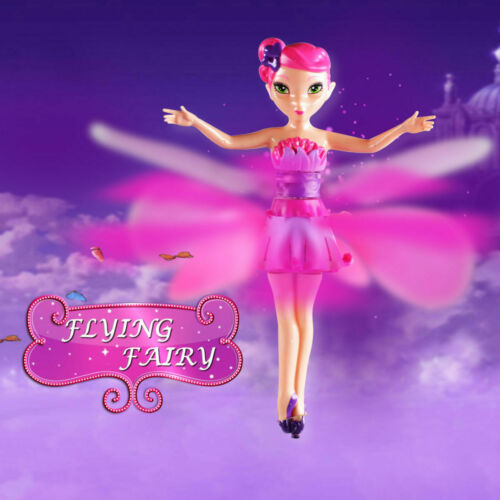 Flying Fairy Doll Hand Infrared Induction Control Dolls Child Fly Toy Gift /_UK