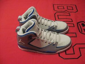 Brand-New-Nike-Air-Jordan-SC-2-Gray-Blue-And-White-Size-10-Shoes
