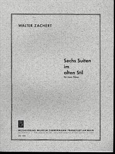 Walter-Zachert-Sechs-Suiten-im-alten-Stil-fuer-zwei-Floeten
