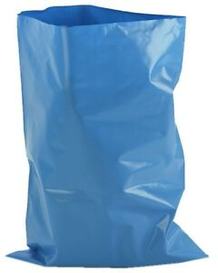 """Capable Extra Heavy Duty Blue Rubble Sacks Builders Waste Bags 500 Gauge 20"""" X 30"""" Harmonious Colors Business & Industrial Trash Cans & Wastebaskets"""