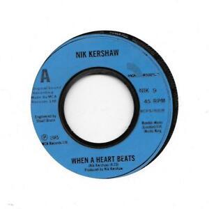 Nik-Kershaw-When-A-Heart-Beats-7-034-Record-Single