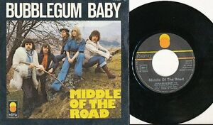 MIDDLE-OF-THE-ROAD-45-TOURS-FRANCE-BUBBLEGUM-BABY