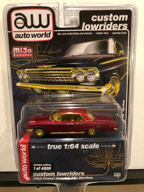 Auto World Custom Lowriders 1962 Chevy Impala SS Hardtop NG150
