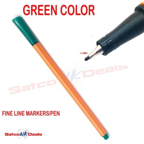 FINE LINE MARKER DRAWING PEN FINELINER ULTRA CLOUR Ink 0.4mm OFFICE KIDS SCHOOL