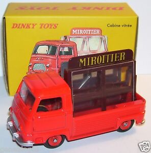Dinky Toys Atlas Pick-up Renault Estafette Miroitier Rouge 1/43 Ref 564 In Box B
