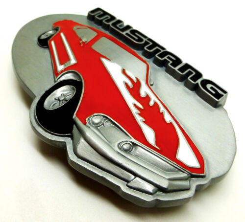 Ford Mustang Belt Buckle Authentic Officially Licensed Classic Muscle Car