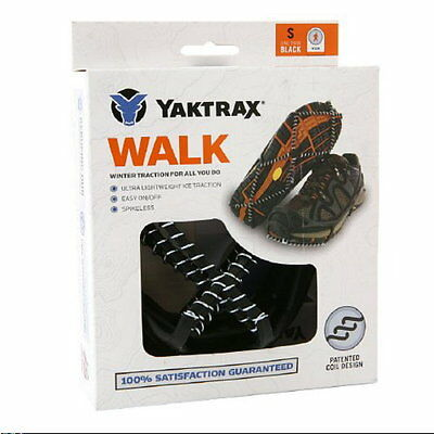 Yaktrax WALK Cleats Snow & Ice Anti-Slip Shoe/Boot Traction Size Medium NWT