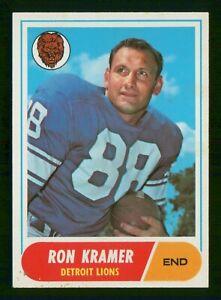 RON KRAMER 1968 TOPPS 68 NO 51 VG  37117