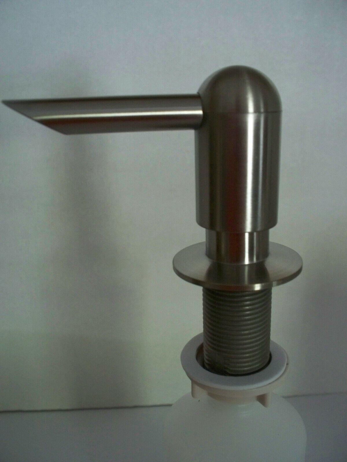 PEERLESS Brand Sink Mount Soap/Lotion Dispenser Stainless Steele Finish