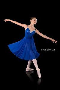 723683d501fe IN STOCK Mood Royal Blue Sequin Lyrical Dress Girls Ladies Dance ...