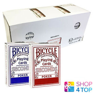12-DECKS-BICYCLE-SECONDS-STANDARD-INDEX-PLAYING-CARDS-SEALED-BOX-CASE-USPCC-NEW