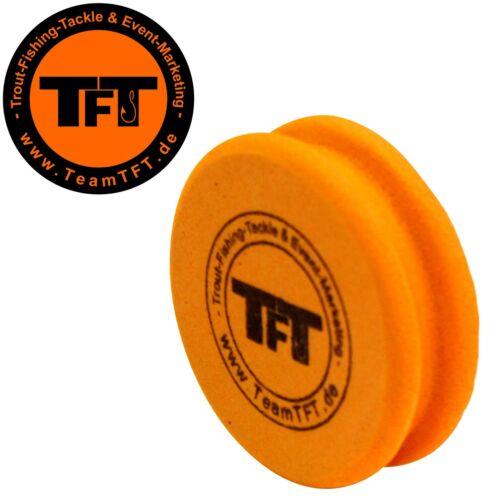 TFT Montageröllchen 7x1,7cm orange Wickelrolle für Sbirolinomontagen