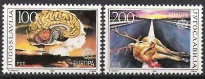 Postfrisch Jugoslawien Nr.2156/57 ** Europa Cept 1986