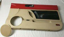 1998 2010 Vw Beetle Convertible Rh Passenger Right Side Door Panel Red Almond