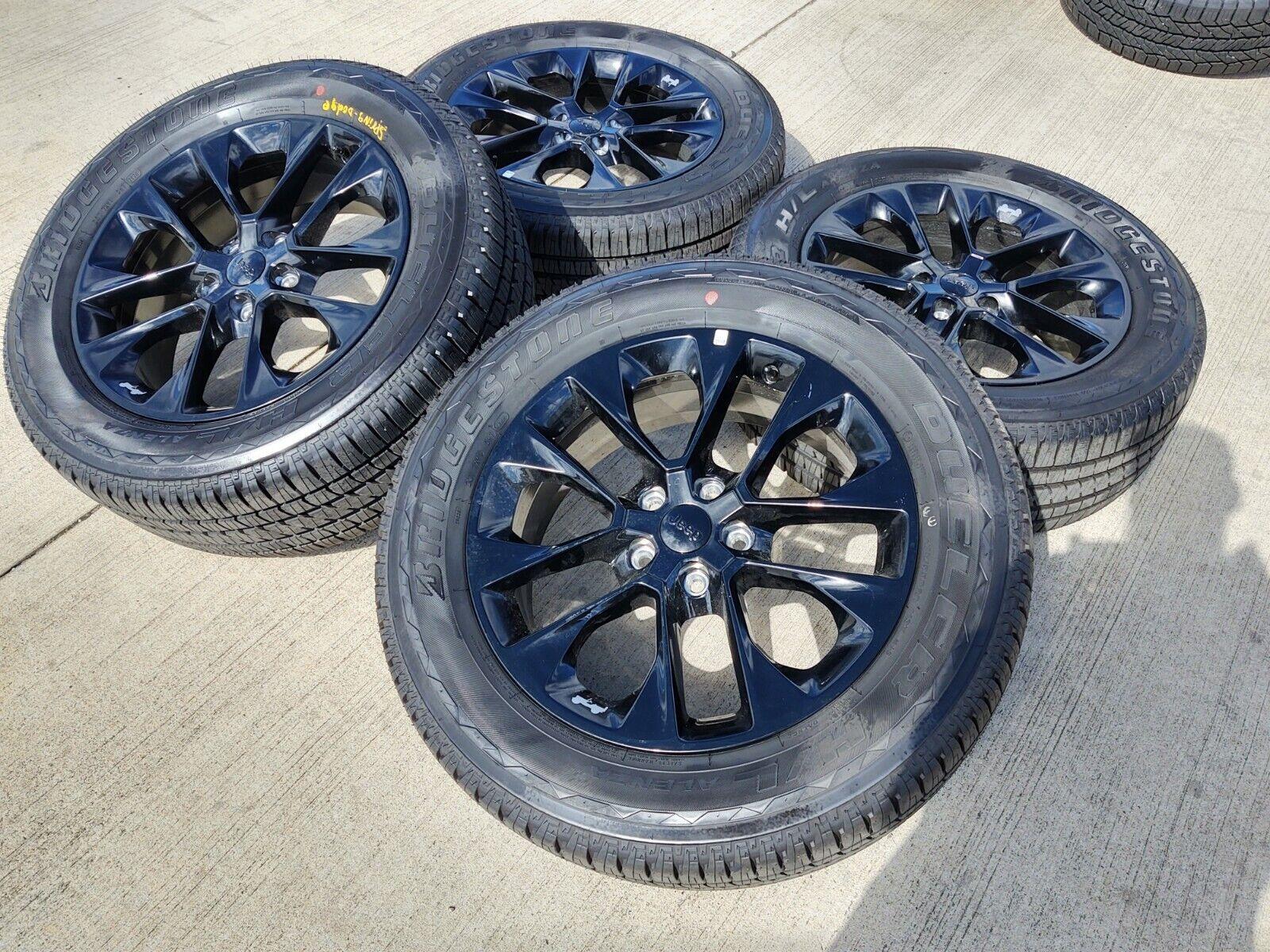20 Jeep Wrangler High Altitude 2021 Oem Black Wheels Rims Gladiator 2020 96902 Ebay