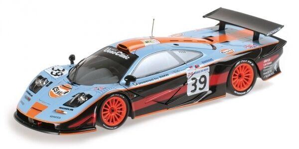 McLaren F1 Gt3 Gulf Team Davidoff Bellm Gilbert Sekiya 24h Le Mans 1997 1 18