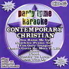 Party Tyme Karaoke: Contemporary Christian, Vol. 1 by Sybersound (CD, Sep-2005, Sybersound)