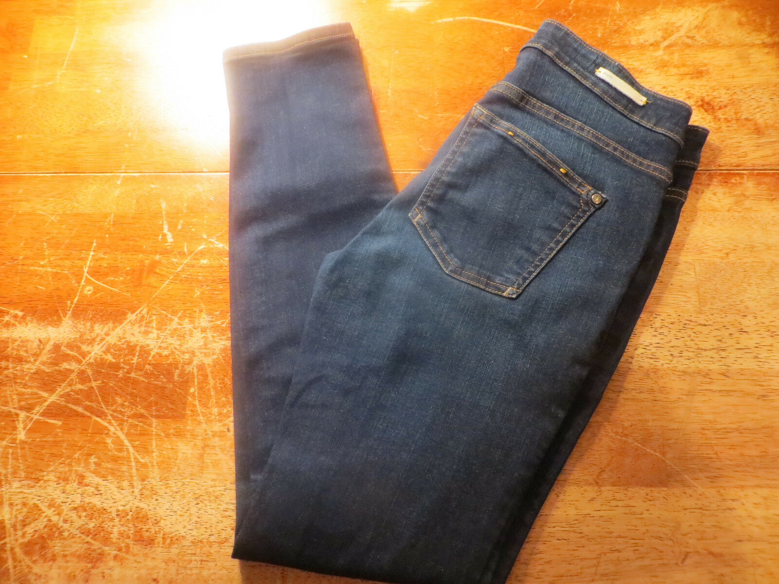 PILCRO AND THE LETTERPRESS ANTHROPOLIGIE SKINNY ANKLE JEANS SIZE 26X28 NICE