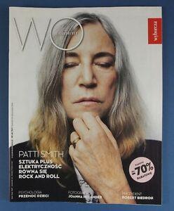 PATTI SMITH great mag.FRONT cover Poland 2016 Mick Jagger - europe, Polska - Zwroty są przyjmowane - europe, Polska