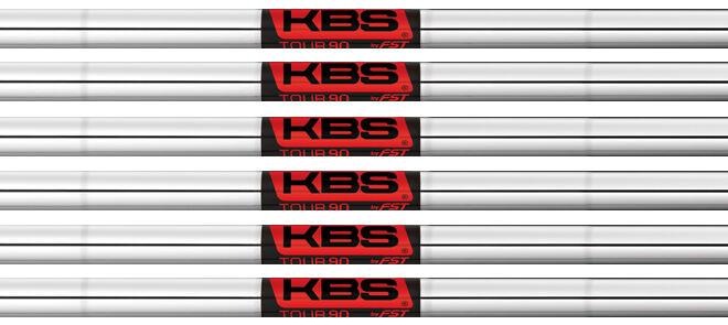 KBS Tour 90 Hierro ejes 5-pw.355 Cono Punta-Regular Flex-Master Distribuidor
