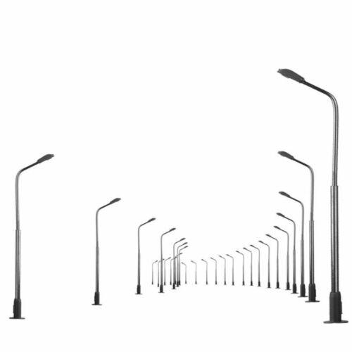 1:150 Modelleisenbahn Zug Lamp Post Street Lichter Leds Hell Neu Hot 10 Stk