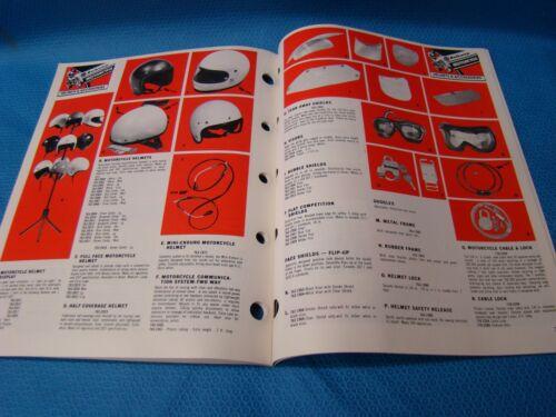 1977 NAPA Balkamp Motorcycle Parts and Accessories Catalog Vintage USA NEW