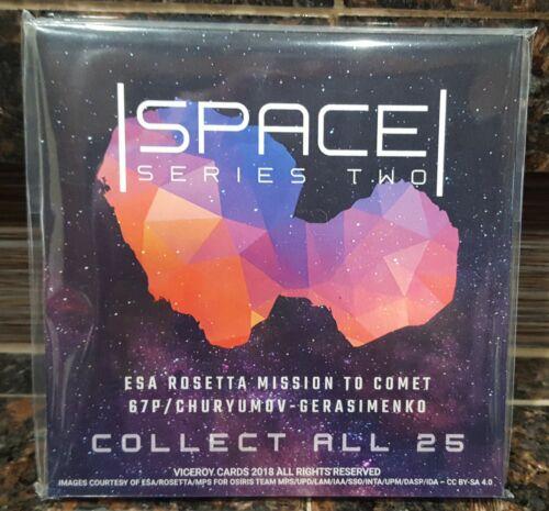 "2018 Viceroy Cards Space Series 2 Complete 25 Card Comet Landing 4.75x4.75/"" Set"