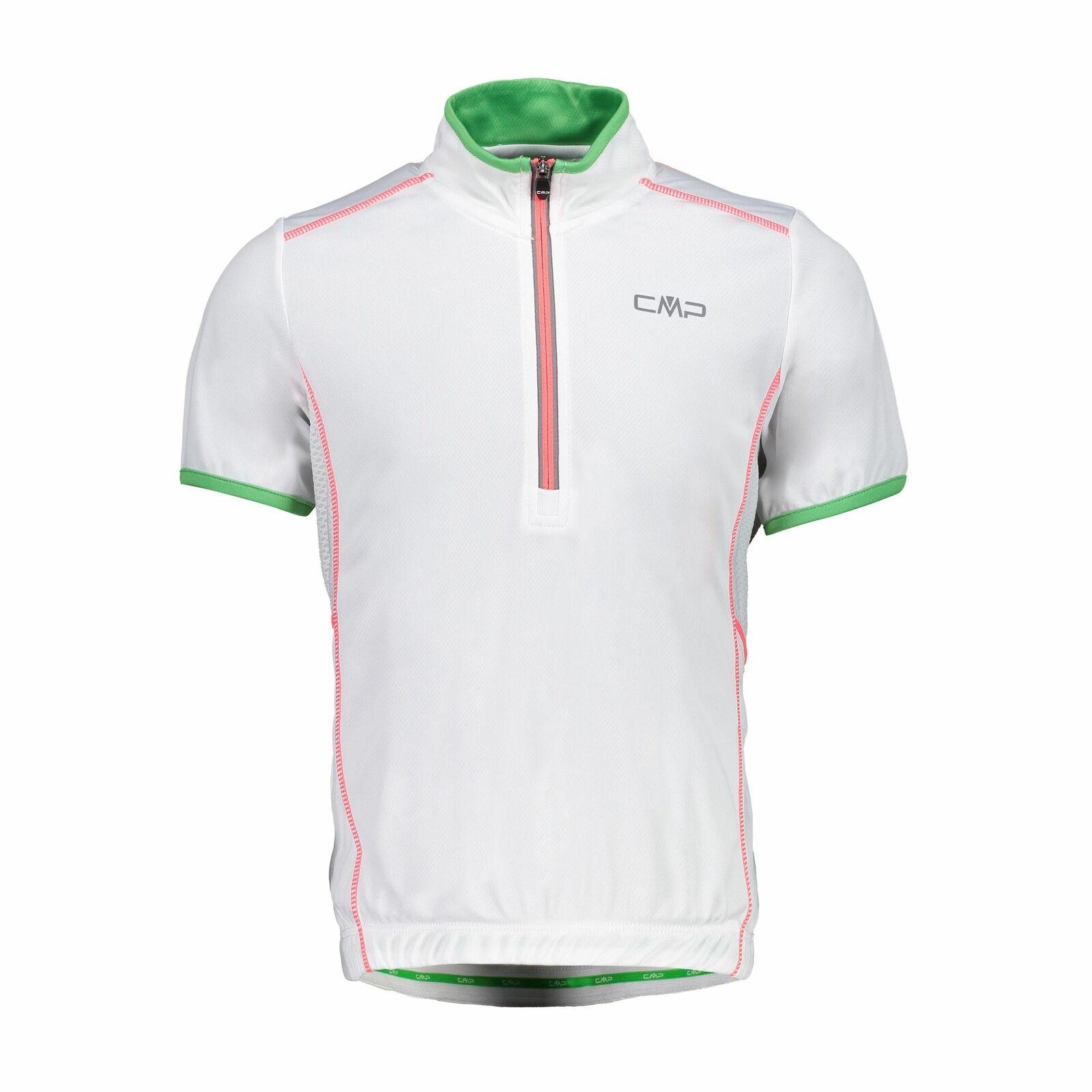 CMP Maillot pour Vélo Enfants Tee-Shirt white Respirant Élastique Séchage Rapide