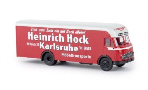 "1:87 Brekina MB LP 322 Möbelwagen /""Heinrich Hock/"" #57229"