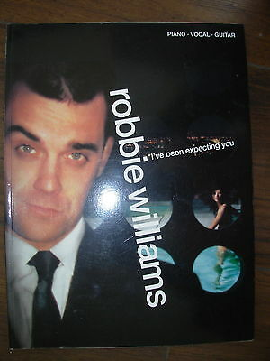 ROBBIE WILLIAMS I'VE BEEN EXPECTING YOU PIANO GUITAR