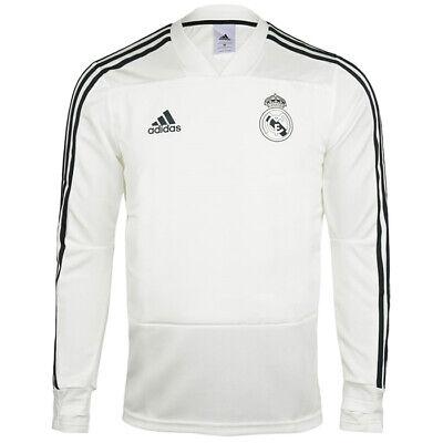 Adidas Real Madrid Training Top Men's Soccer Shirts Football Jersey White CW8664 | eBay
