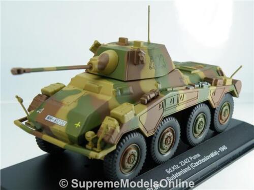 SD KFZ 234//2 Puma Tank ARMY Militare emissione Modello Scala 1945 1//43RD K8967Q ~ # ~
