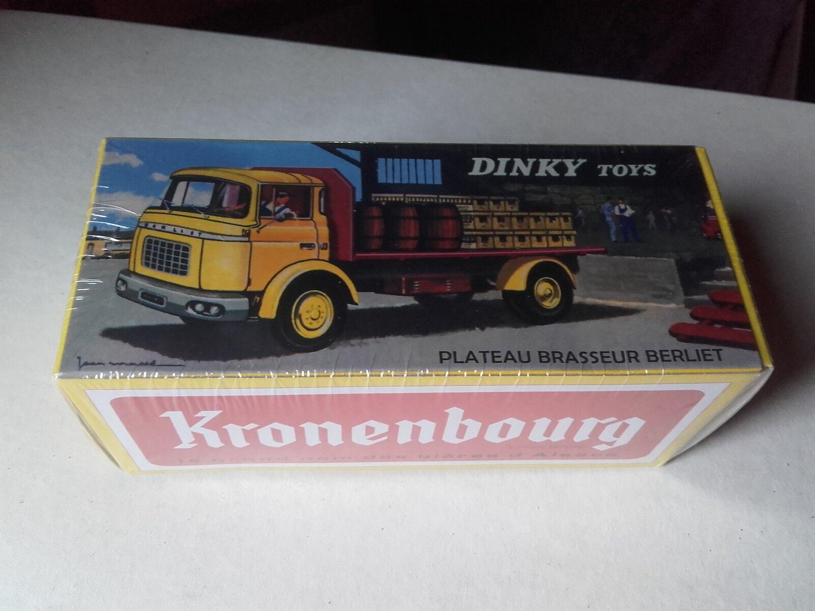 Dinky giocattoli atlas plateau brasseur berliet specialee    kronenbourg c52b08