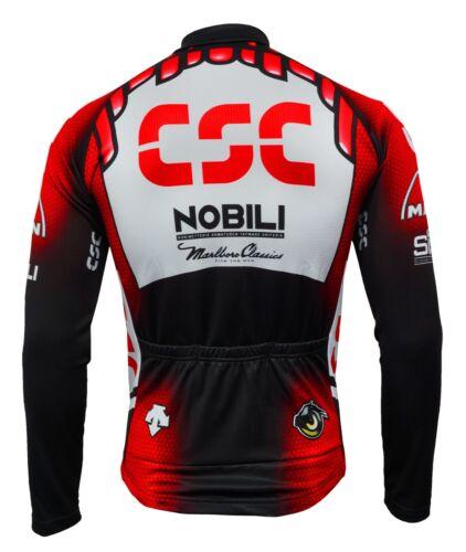 XL-nuevo //csc//csc//csc//SCS// L Csc Team-manga larga Camiseta-Talla M