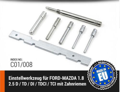 Motor-Einstellwerkzeug FORD MADE IN EU TCI MAZDA 1.8 2.5 D// TD// DI TDCI