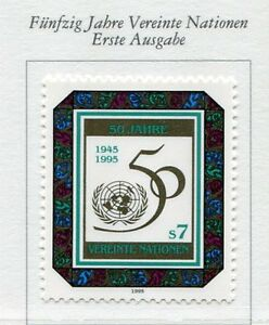 19405-UNITED-NATIONS-Vienna-1994-MNH-Nuovi-50-years-of-UNO
