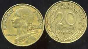 FRANCE  20 centimes 1980  MARIANNE etat