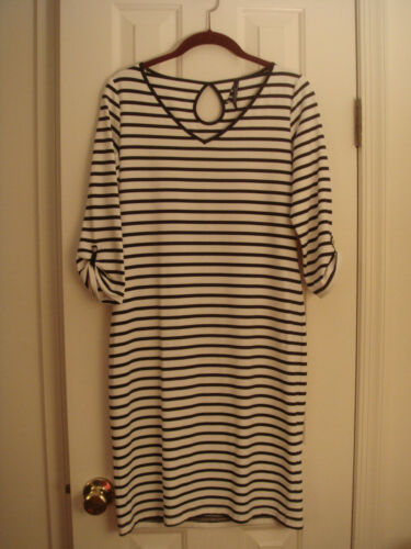 SAINT JAMES MADEMOISELLE striped DRESS size 6