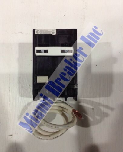 CUTLER HAMMER GFCB240 GROUND FAULT CIRCUIT BREAKER 40A 2 POLE 120//240 VAC NEW