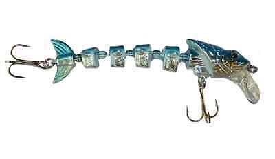 Amabile Swimbait Artificiale Snodato Pesca Spinning Luccio Bass Spigola Serra Pesce Tp