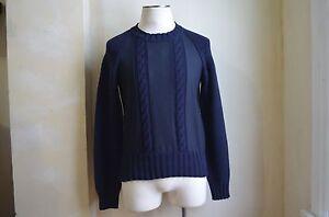 cachemira Valentino Deluxe lana de cable con Suéter tejido Xl de diseño de de y S 8055966059304 punto Italia Hzqw7RPO