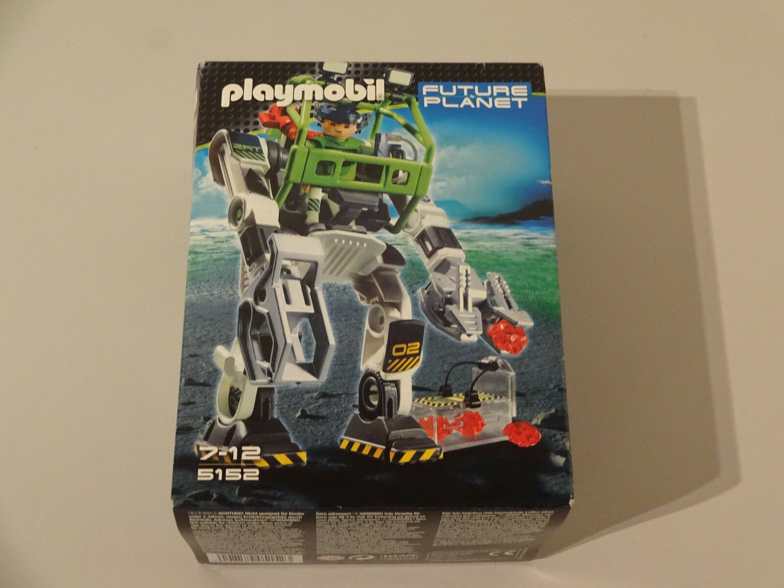 ( GO) KLICKY 5152 E-RANGER COLLECTOBO FUTURE PLANET NEU   OVP TOP ZUSTAND