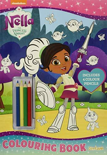 Nella The Princess Knight Colouring Book