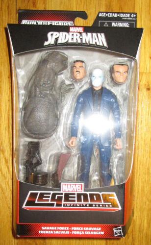 """Marvel Legends Infinite Series CHAMELEON 6/"""" Figure SPIDERMAN SAVAGE BAF RHINO"""