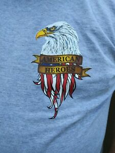 T-Shirt, Patriotic Honoring also First Responders