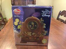 NIB Disney Jiminy Cricket OLD FASHION RADIO Musical Blower Lite Up Snowglobe