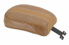 Mustang 75373 Vintage Solo Seats Brown Vintage w/Leather Inserts - Passenger