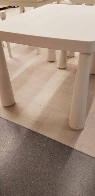 Ikea Mammut Table Pour Enfant En Blanc Pour Interieur Et
